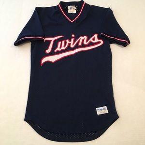 80s vintage majestic Minnesota Twins logo jersey